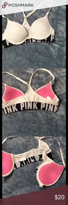 PINK Victoria secret light push up bra front hook PINK Victoria secret light push up bra front hook PINK Victoria's Secret Intimates & Sleepwear Bras