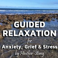 30 minute Guided Relaxation For Grief | Everyone experiences grief in their own way, yet most of us agree that it takes its toll on our body, mind and emotions. And while there are many ways to soothe a grieving soul, there is one practice that I find particularly helpful for the vast majority of my clients. This 30 minute guided exercise is available on my blog via Youtube and is freely available for download on Soundcloud.com/heatherstang.