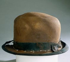 A hat recovered from the RMS Titanic