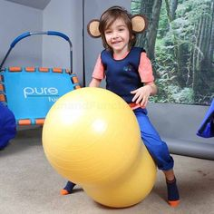 Peanut Ball Exercise Chair | Balance & Stability Ball Chair for Specials…