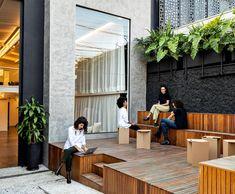 Sick Building Syndrome, Urban Fabric, Corporate Interiors, Sustainable Architecture, Urban Design, Natural Materials, Patio, Future, Gallery