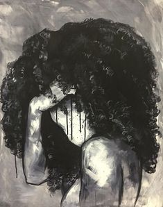 #Naturally by Donice Bloodworth Jr. #DopeAssArt #Natural #Hair #BlackArt #Art