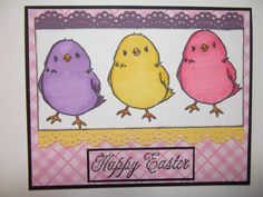Happy Easter by bmbfield - Cards and Paper Crafts at Splitcoaststampers