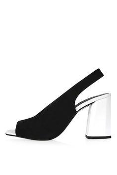 ROXY Facet Heel Sandals