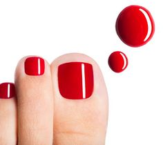 Minimise nail polish use to avoid fungal toenail infections plus the latest treatment options Antifungal Nail Polish, Red Pedicure, Pedicure Ideas, Nail Ideas, Foot Fungus Treatment, Cherry Blossom Nails, Toenail Fungus Cure, French Nail Designs, Almond Nails