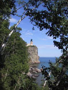 Splitrock Lighthouse on Lake Superior in beautiful northern Minnesota.