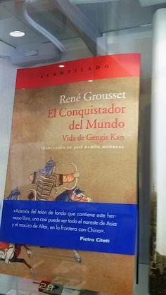 """""""El conquistador del Mundo"""". Vida de Gengis Kan."""" Acantilado."""