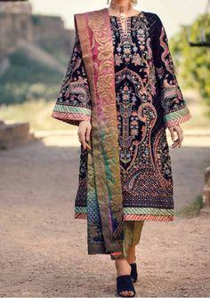 Velvet Pakistani Dress, Pakistani Dresses, Model Pictures, Dress Brands, Kimono Top, Trousers, Luxury, Sleeves, Shopping