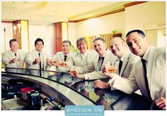 Malibu Wedding Groomsmen