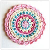 Free crochet potholder pattern