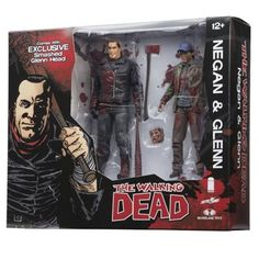 Walking Dead Negan and Glenn Bloody Action Figure 2-Pack- San Diego Comic-Con 2016 Exclusive -- Awesome products selected by Anna Churchill
