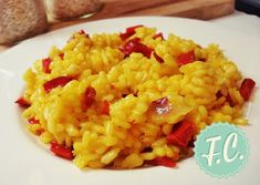 rizoto me piperies Risotto, Macaroni And Cheese, Food Porn, Rice, Favorite Recipes, Vegetables, Cooking, Ethnic Recipes, Greek Beauty