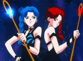 """Sailor Moon S  Episode 123    Wake Up Call    Jap.123 """"Shadows of Destruction! The Awakening of the Messiah of Silence"""""""