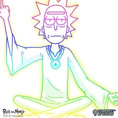 Spiritual Leader Rick - Rick & Morty