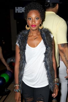 """1st Annual ABFF """"Strikes For Education"""" Celebrity Bowling-Bre-ANTM"""