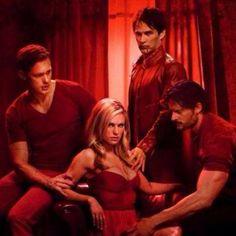 Eric, Sookie, Bill, Alcede-             True Blood