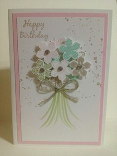 Birthday Card - Stampin Up