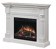 Lowest price on Dimplex Winston White Mantel Electric Fireplace With Logs Shop today! Foyer Électrique Dimplex, Dimplex Fireplace, Dimplex Electric Fireplace, Tv Above Fireplace, Fireplace Built Ins, Shiplap Fireplace, Concrete Fireplace, Farmhouse Fireplace, Modern Fireplace