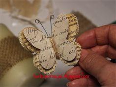 Hecho por Bugui. mariposas de papel