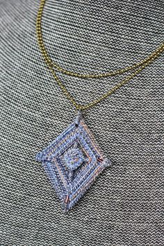 Ojo de Dios Necklace