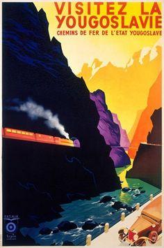 Yougoslavie Visit Yugoslavia Canyon Train
