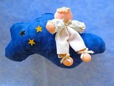 Cloud with angel by propuestaunica on Etsy, $8.99