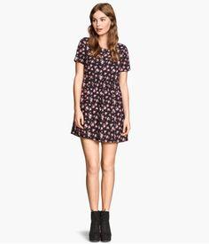 H&M Gemustertes Kleid 14,99