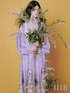 봄, 꽃, 그리고 여자 | 엘르코리아(ELLE KOREA) editorial The World of Holly Orient