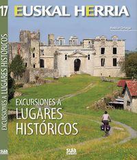Excursiones a lugares históricos. Localización / Kokagunea: Planta 1 / Lehen solairua Signatura / Sinadura: 908(460.15) ORT