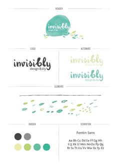 invisibly by kerstin sterl, via Behance