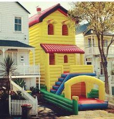 bounce house, bounce house hosue