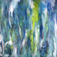 "Saatchi Art Artist Carl Yoshihara; Painting, ""Cascade, 2011."" #art"