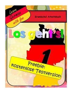 Freebie: German workbook for beginners.