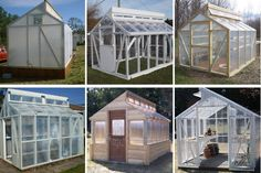 15 Free DIY Greenhouse Plans You Can Build