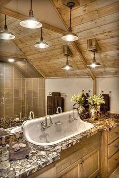 "barrel sink, rustic toilet opened | the ultimate ""redneck"