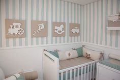 Baby room ideas for boys Baby Bedroom, Baby Boy Rooms, Baby Room Decor, Baby Boy Nurseries, Nursery Room, Kids Bedroom, Room Baby, Wallpaper Flower, Kids Decor