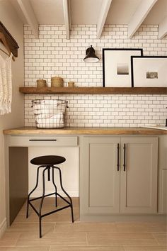 """Find out more relevant information on """"laundry room storage diy budget"""". Check out our web site. Modern Laundry Rooms, Farmhouse Laundry Room, Cottage Farmhouse, Cozy Cottage, Farmhouse Style, Rustic Farmhouse, Laundry Room Organization, Laundry Room Design, Laundry Decor"""
