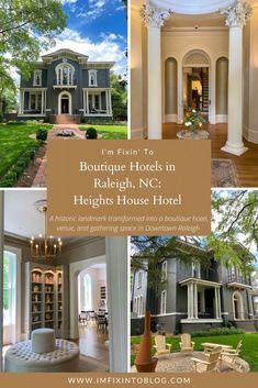 NC Blogger I'm Fixin' To shares a sneak peek into Heights House Hotel, the newest boutique hotel in Raleigh. Check it out!