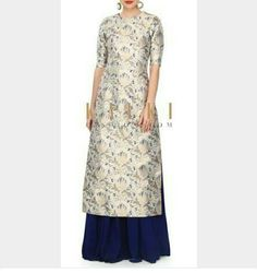 Brocade dress. .....indian dress Brocade kurta with skirt ...order 9781584343...on whatsaap,email.or dm