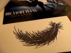 Die Nacht in uns - Sylvie Grohne #vampire #angel #book #buch #feder #feather