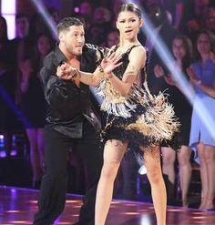 Dancing With the Stars 2013: Val Chmerkovskiy and Zendaya's Week 6 Cha-Cha-Cha