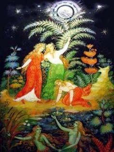 "Цветок папоротника - славянский символ и оберег - ""Радогост"""
