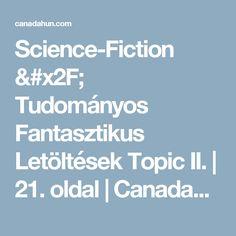 Science-Fiction / Tudományos Fantasztikus Letöltések Topic II. | 21. oldal | CanadaHun - Kanadai Magyarok Fóruma