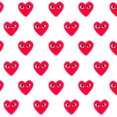 Comme des Garcons hearts