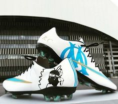 Cabella Shows Off Custom Nike Mercurial Vapor Marseille Boots b7c5e6fed0bb7
