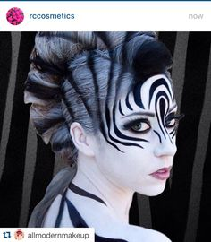 YAY OR NAY?.... ・・・www.rc-cosmetics.com Wow! Amazing zebra costume!! @littleredwarrior1d #halloweenparty