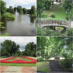 parks in riga, latvia - www.ladyofthemess.fi/2015/08/riika-ronttaliisa-baltian-pariisissa.html