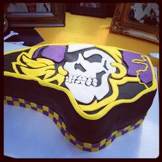 Luke's 16th birthday cake. ECU