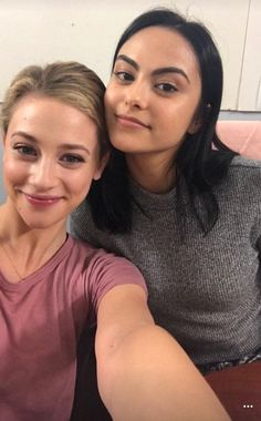 Lili Reinhart and Camila Mendes