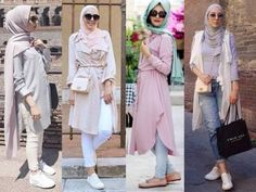 Hijab outfits in pastel colors pastel-hijab outfits – Hijab Fashion 2020 Hajib Fashion, Hijab Fashion Summer, Boho Summer Outfits, Muslim Fashion, Modest Outfits, Fashion 2020, Modest Fashion, Hijab Trends, Mode Simple